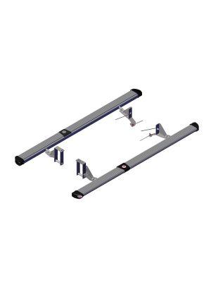 Isuzu D-Max Side Protection & Steps | 4x4 | Black/Silver