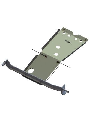 Toyota Hilux Gearbox & Transfer Case Skid Plate